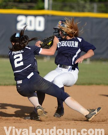 Osbourn @ Stone Bridge Softball State Quarter Final (Photos by Tom Lighton)