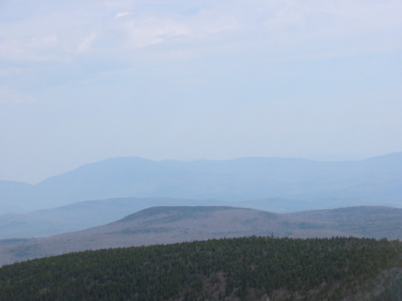 Flat top of Black Hill in front, Moosilauke in back