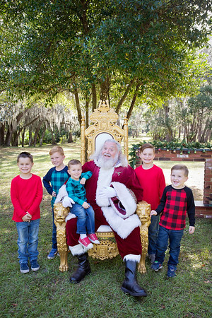 Santa Minis 2018: Santa and the Boys!