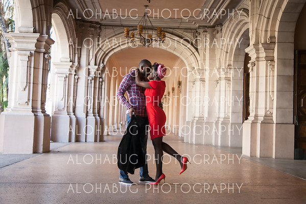 Balboa Park Engagement with N + K