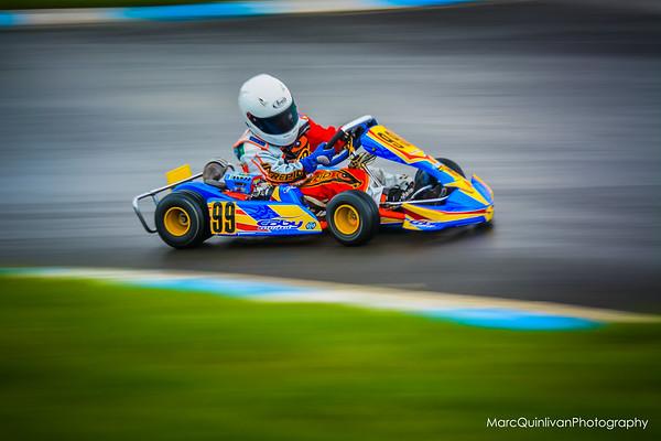 Tullyallen Karting Club - 2014 Summer Championship - Round 1 - Whiteriver - Alyx Coby