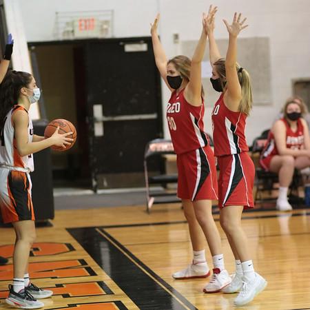 3/2021 Girls Varsity Basketball vs Utica High School