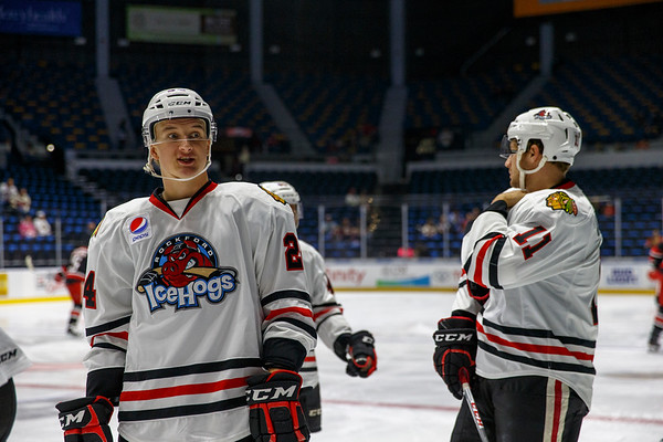 10-20-17 - IceHogs vs. Griffins