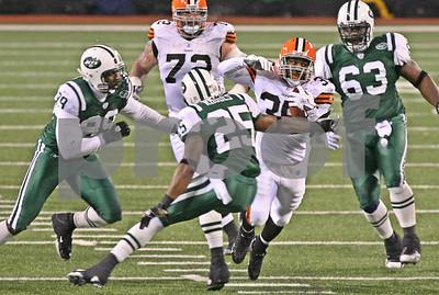 12/9/2007 - Cleveland Browns vs. New York Jets - Giants Stadium, E. Rutherford, NJ