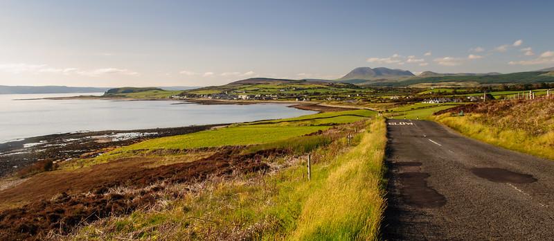 Blackwaterfoot on the Isle of Arran
