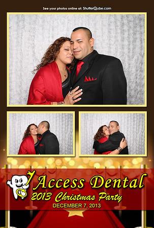 Access Dental Christmas Party 12-7-13