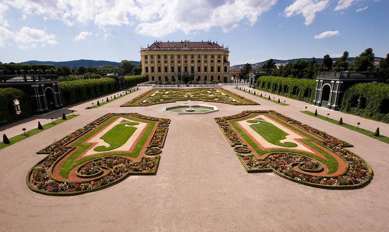 Gardens of Schloss Shonbrunn