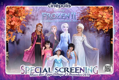 191214-15 | Cinepolis Special Screening Frozen 2