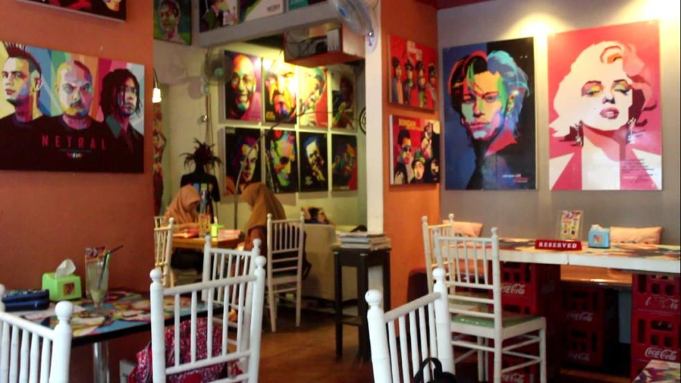 Pop Art Cafe