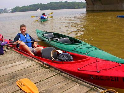 Kayak .. with us on the Potomac River