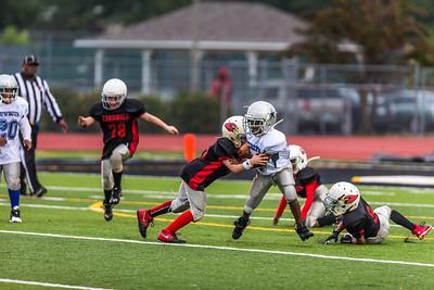 Starkville Cowboys vs. Kosciusko Cardinals (MGYFL Superbowl)
