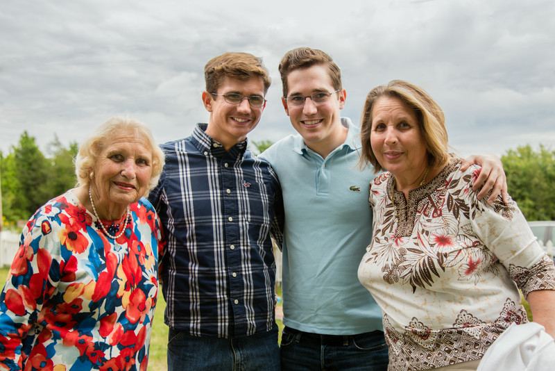 Gramma, James, Thomas and Aunt Anne...
