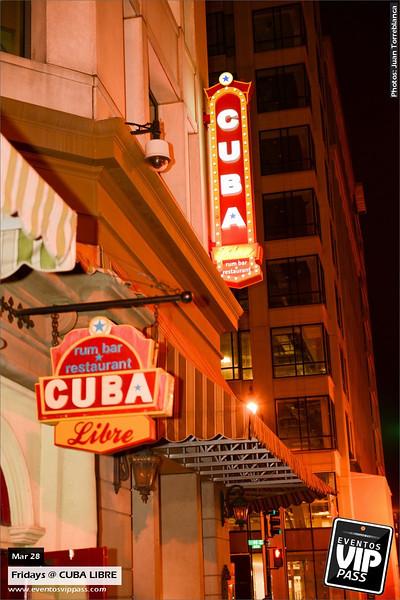 CUBA LIBRE | Fri, Mar 28