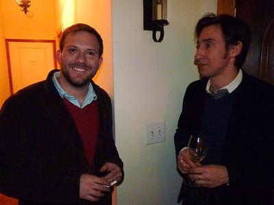 Jan 15 Tues  2013 MOLLY BARNES hosts ROGER SMITH: ELANA KATZ with DAVID TERRY