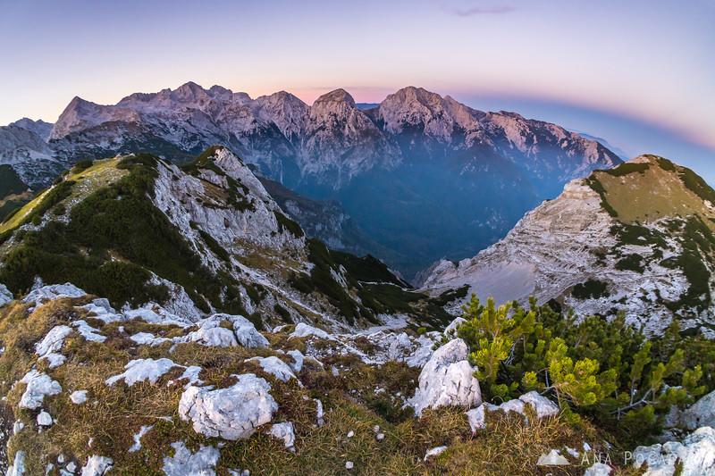 Climbing Kompotela and Vrh korena - Oct 5, 2018