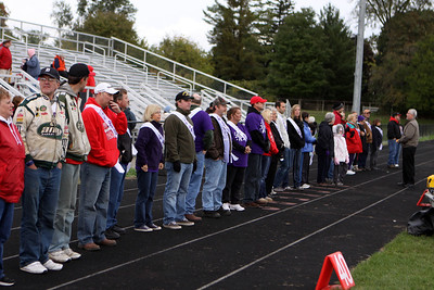 Boys Varsity Football - 9/30/2011 Fruitport (Homecoming) Honoring Survivors and Victims of Cancer