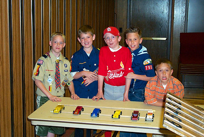 2001-04-21 Pinewood Derby