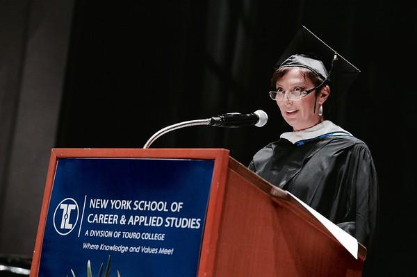 Touro graduation. Brooklyn College 2016