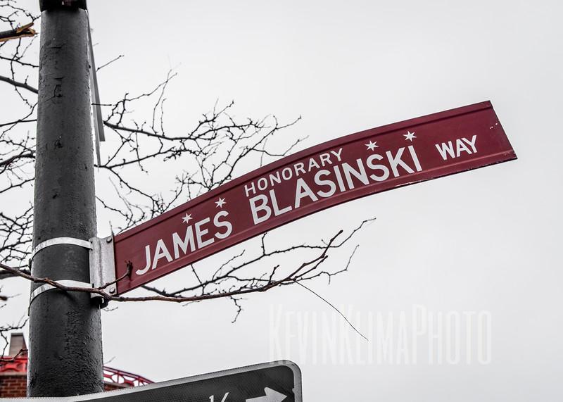 Honorary James Blasinski Way