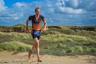 Sandman Triathlon - Classic Run on Dunes Before Beach