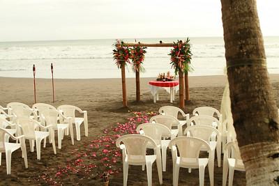 Paul & Amber Edinger's Wedding on Jaco Beach