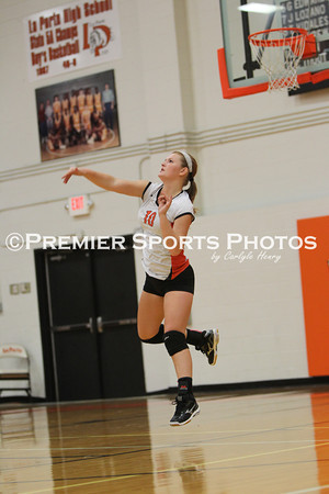 La Porte JV Volleyball vs Pasadena Memorial 9/3/2013