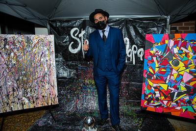 Artist Steven Calapai Pop up