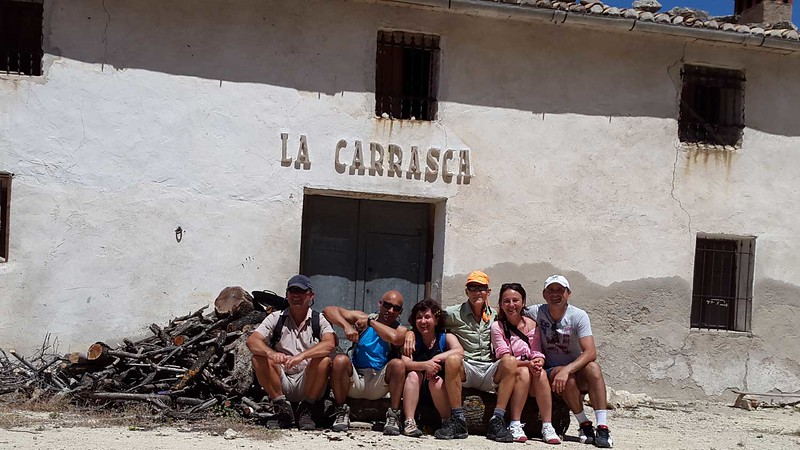 Alfred, Erle, Paqui, Vic, Genonia, and Adrian. Sanchet Circuit