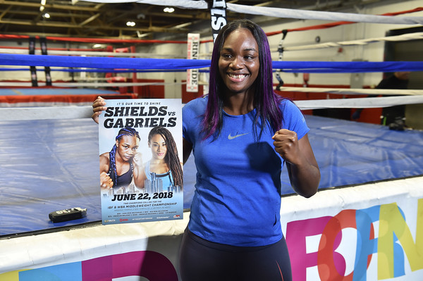Olympic Medalist Claressa Shields' Promo Event - Detroit, MI