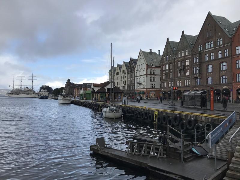 Bergen tour with Emma