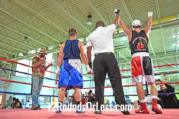 Bout 10 Peyton McKendrick, RG, Cleveland -vs- Darrett Luhring, BG, Toledo, 152 #