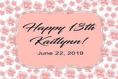 20190622 Kaitlynn 13th Birthday
