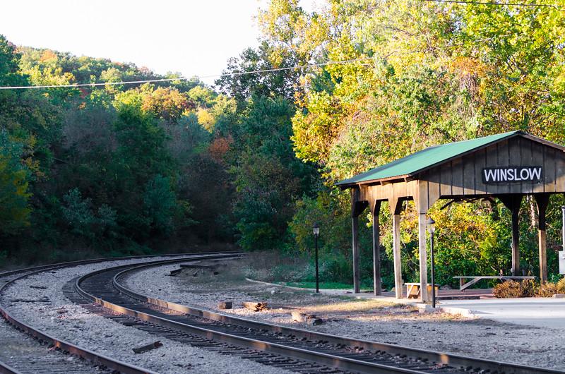 Winslow, Arkansas Train Depot