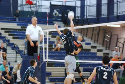 OE boys Varsity volleyball Vs Plainfield East