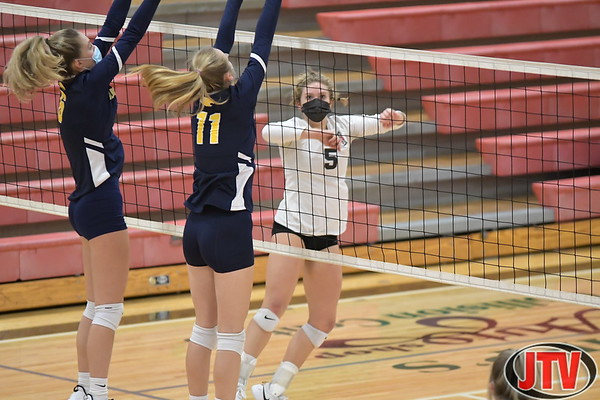 Div 3 Volleyball Columbia Central v Vandercook Lake 11-2-20