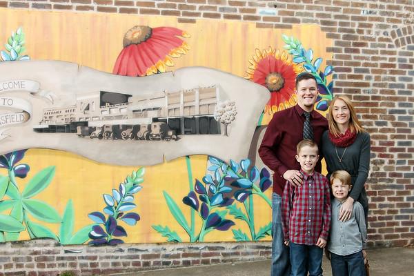 Bennett Family - Fall 2017