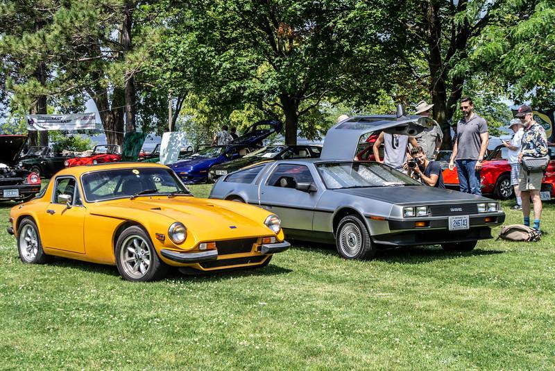 Triumph and DeLorean