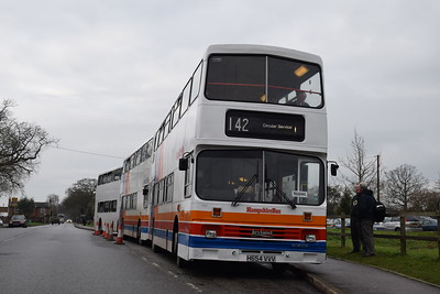 Reading Bus Running Day, 31 December 2016