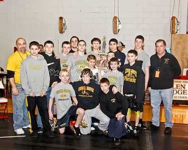 SUBWL 2012 Team Champs and Wt. Class winners