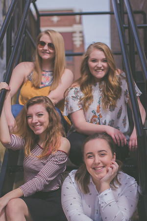 Megan Douglas, Alyssa Roach, Mollie Schwebach, Rachel Tortora (4-1-17)