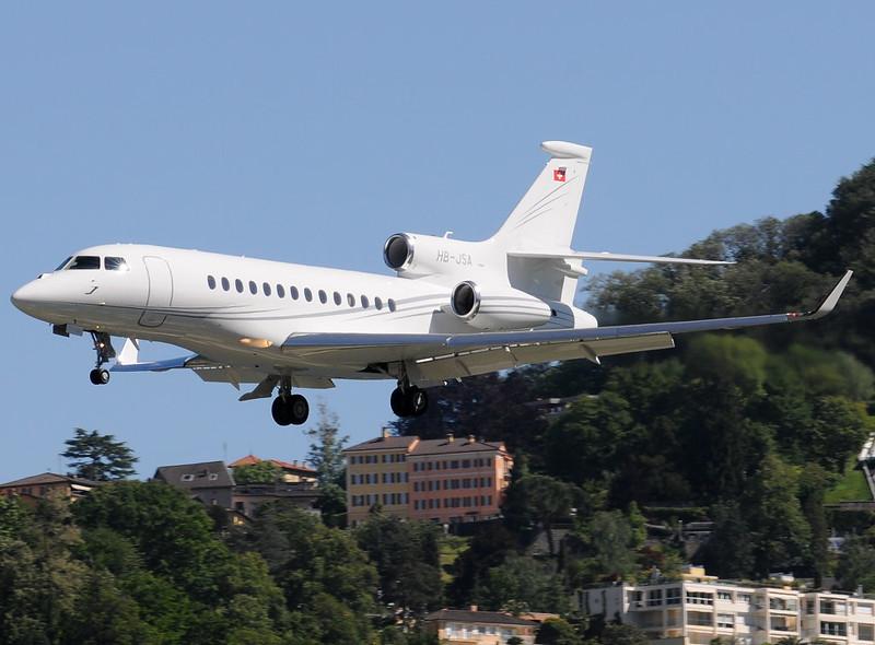 HB-JSA - FA7X - 15.05.2014