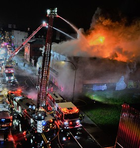 3 Alarm Commercial Building Fire -  Scio St, Rochester, NY - 12/24/20