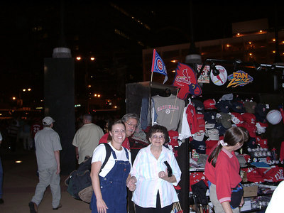 St. Louis Cardinals Baseball: Cubs Game with Marie -- 2000