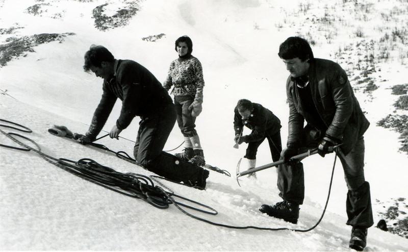 Bjelasnica - Stanari - January 1977.