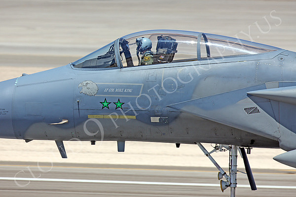 """U.S. Air Force McDonnell Douglas F-15 Eagle MiG Killer Airplane Pictures [NOTE: A """"MiG Killer"""" is a US Armed Forces Airplane With """"Kill Markings"""" That A Pilot Used to Shoot Down an Enemy Airplane.]"""