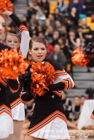 02-04-2012 Rockville HS Division #2 Poms Championship at Richard Montgomery HS, Photos by Jeffrey Vogt Photography