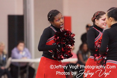 02-04-2012 Quince Orchard HS Division #2 Poms Championship at Richard Montgomery HS, Photos by Jeffrey Vogt Photography