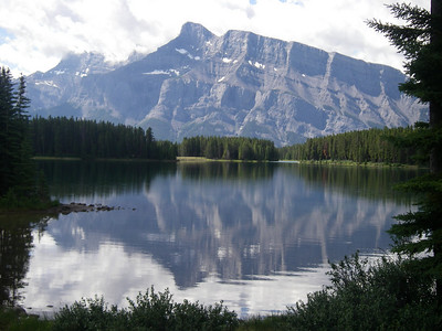 Banff NP & Bow R to Canmore by kayak 07-08