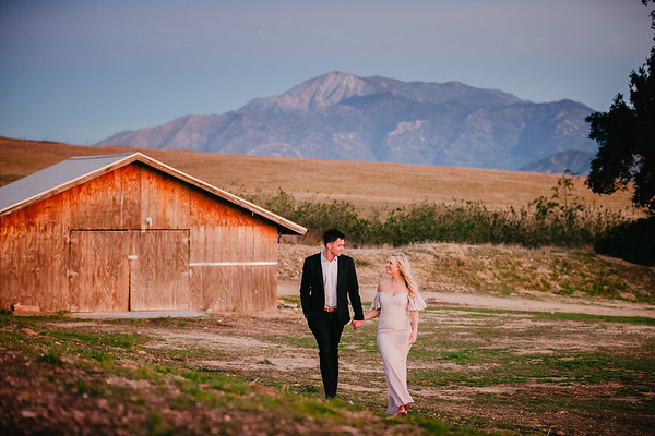 Meghan and Andy | Highland Springs Ranch and Inn Engagement