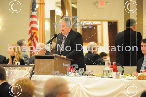 56th Annual Aurora Township Republicans Lincoln Day Dinner at Gaslite Manor in Aurora, IL 2-28-13